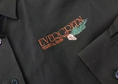 Medford & Grants Pass, OR apparel, garment, and gear embroidery